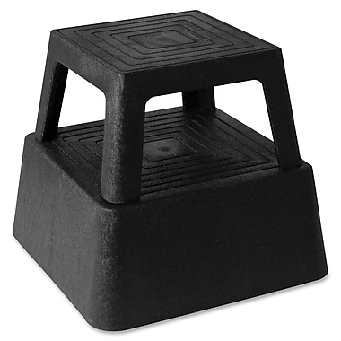 Genuine Joe® Anti-Skid Structural Plastic Step Stool, 350 lbs.