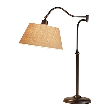 Adesso® Rodeo Table Lamp, Antique Bronze Finish