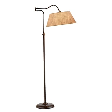 Adesso® Rodeo Floor Lamp, Antique Bronze