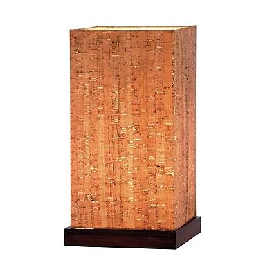 Adesso® Sedona Table Lantern, Walnut Finish