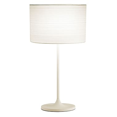 Adesso® Oslo Table Lamp, White Finish