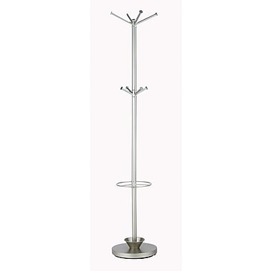 Adesso® Quatro Metal Umbrella Stand Coat Rack