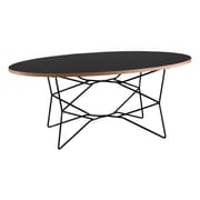 "Adesso® 19"" Network Coffee Table, Black"