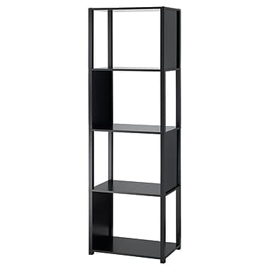 Adesso® Hyde MDF Five Shelf Unit, Black