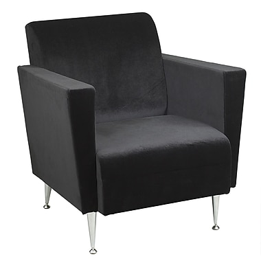 Adesso® Memphis Club Chair, Black
