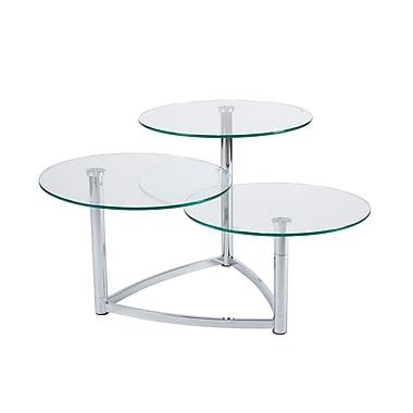 Adesso® Cascade 3-Tier Swivel Table