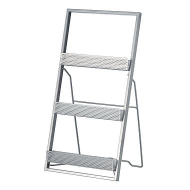 Adesso® Editor Steel Magazine Rack