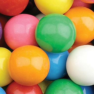 Dubble Bubble 1 Inch Assorted Gumballs,  15 lb. Bag