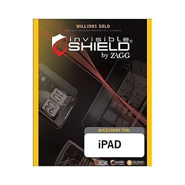 Zagg® invisibleSHIELD™ APPIPAD3S Clear Screen Protector For Apple iPad 3 and 4