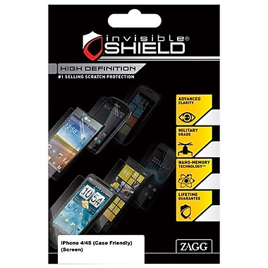Zagg® invisible Shield® HDAPLiPhone4GCF Screen Protector For Apple iPhone 4/4S