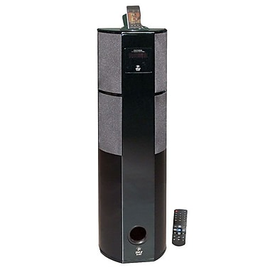 Pyle® PHST92IBGL 600 W Digital 2.1 Channel Home Theater Tower w/iPod and iPhone Docking Station