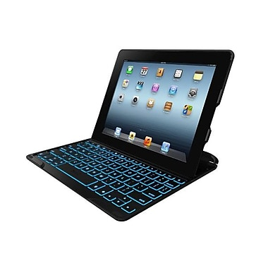 Zagg® PROfolio+ Keyboard Case and Cover For iPad 2/3/4, Black