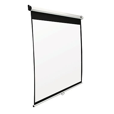 Elite Screens SRM Series 100in. Manual Projection Screen, 16:9, White