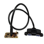 StarTech MPEXUSB3S22B 2 Port PCI Express USB 3.0 Adapter Card