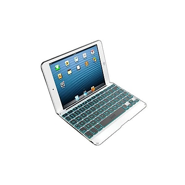 Zagg® Folio Case With Backlit Keyboard For Apple iPad Mini, White