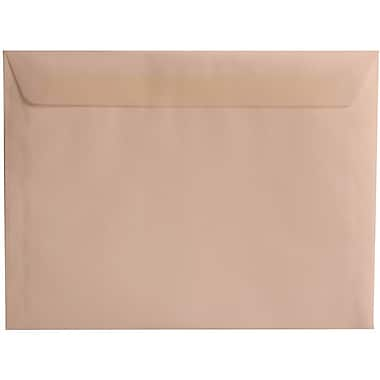 JAM Paper® 9 x 12 Booklet Envelopes, Translucent Vellum Clear, 100/Pack (2851371g)