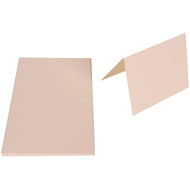 JAM Paper® Blank Foldover Cards, A2 size, 4 3/8 x 5 7/16, 80lb Strathmore Bright White Wove, 25/pack (3095705)