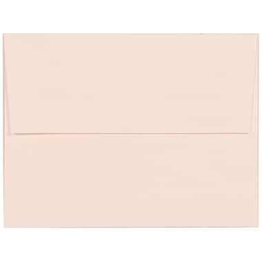 JAM Paper® A2 Invitation Envelopes, 4.38 x 5.75, Strathmore Bright White Linen, 100/Pack (66670g)