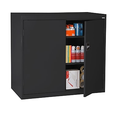 Sandusky® Elite 46in. x 24in. x 42in. Counter Height Cabinet With Adjustable Shelves