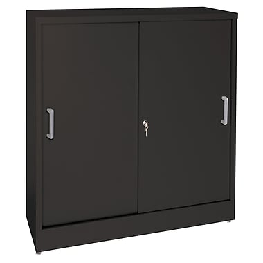 Sandusky® Elite 36in. x 12in. x 42in. Counter Height Sliding Door Storage Cabinets