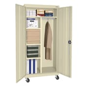 Sandusky® Elite 66 x 36 x 24 Transport Mobile Combination Cabinet, Putty