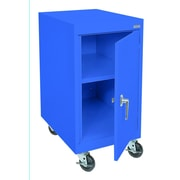 Sandusky® Elite 36 x 18 x 24 Transport Work Height Storage Cabinet, Blue