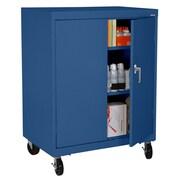 "Sandusky® Elite 48"" x 36"" x 24"" Transport Work Height Storage Cabinet, Blue"