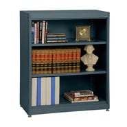 Sandusky® Elite 36in. x 18in. x 42in. Steel Radius Edge Stationary Bookcase, Charcoal