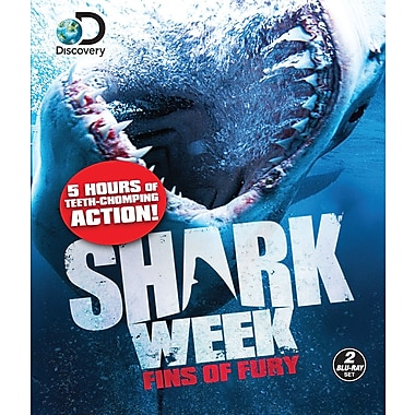 Shark Week - Fins Of Fury (Blu-Ray)