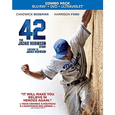 42 (Blu-Ray + DVD + UltraViolet + Digtial Copy)