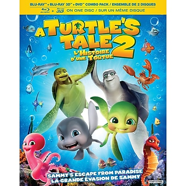 A Turtle's Tale 2 - Sammy's Escape From Paradise (3D Blu-Ray + Blu-Ray + DVD)