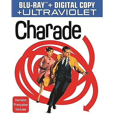 Charade (Blu-Ray + Digital Copy + UltraViolet)