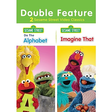 Sesame Street: Do the Alphabet / Imagine That (DVD)