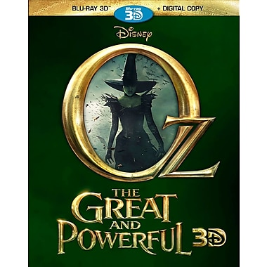 Oz The Great and Powerful 3D (3D Blu-Ray)