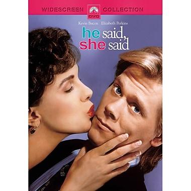 He Said, She Said (DVD)