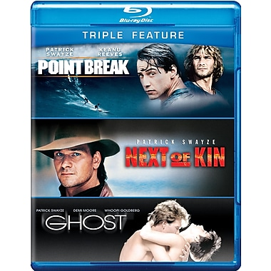 Patrick Swayze: Triple Feature (Blu-Ray)