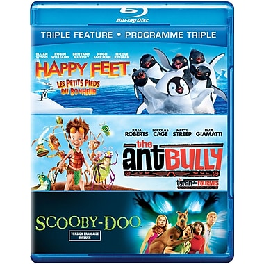 Happy Feet/The Ant Bullly/Scooby-Doo, The Movie (Blu-Ray)