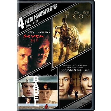 4 Film Favorites: Brad Pitt (DVD)