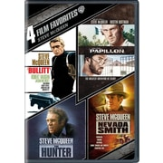 4 Film Favorites: Steve McQueen (DVD)