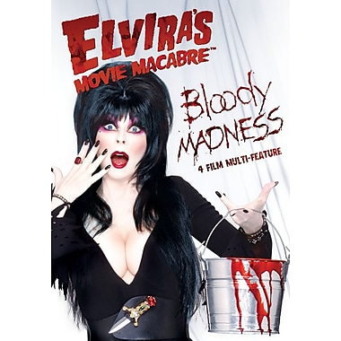 Elvira's Movie Macabre - Bloody Madness Multi-Feature (DVD)