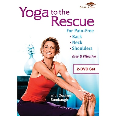 Yoga to the Rescue For Pain Free Back, Neck & Shoulders (DVD)