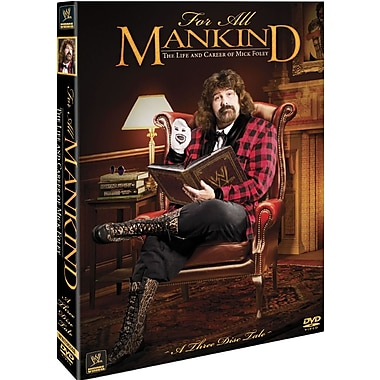WWE 2013: For All MANKIND - The Life & Career of Mick Foley (DVD)