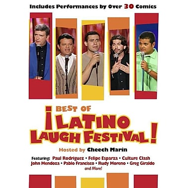 The Best Of Latino Laugh Festival (DVD)