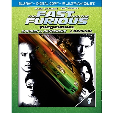 The Fast and the Furious (Blu-Ray + copie numérique + UltraViolet)