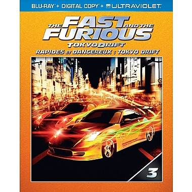 The Fast and the Furious: Tokyo Drift (Blu-Ray + Digital Copy + UltraViolet)
