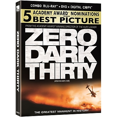 Zero Dark Thirty (Blu-Ray + DVD + Digital Copy)