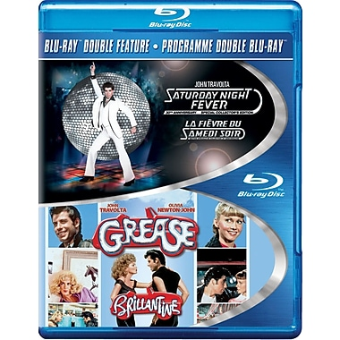 Saturday Night Fever/Grease (Blu-Ray)