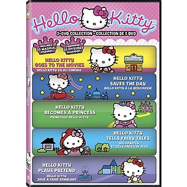 Hello Kitty 5 DVD Collection (DVD)