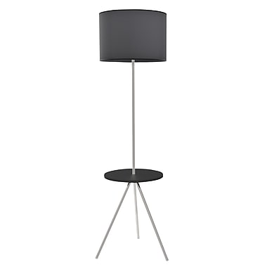 LumiSource® Fusion Lamp With Table, Black
