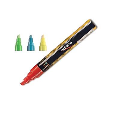 Deflect-o® Wet-Erase Marker, Assorted, 4/Pack